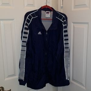 Vintage Adidas Windbreaker Jacket 2XL XXL